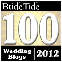 BrideTide's Top 100 Wedding Blogs 2012